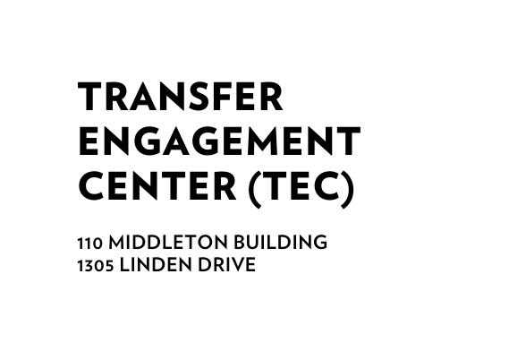 Transfer Engagement Center 110 Middleton Building 1305 Linden Drive